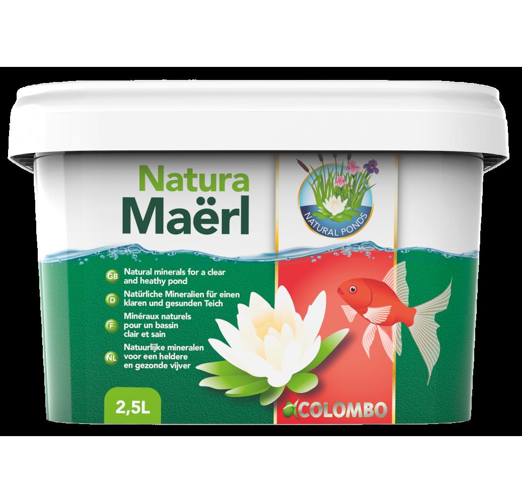 STABILISATEUR EAU NATUREL COLOMBO NATURA MAERL 2500 ML POUR 25M3