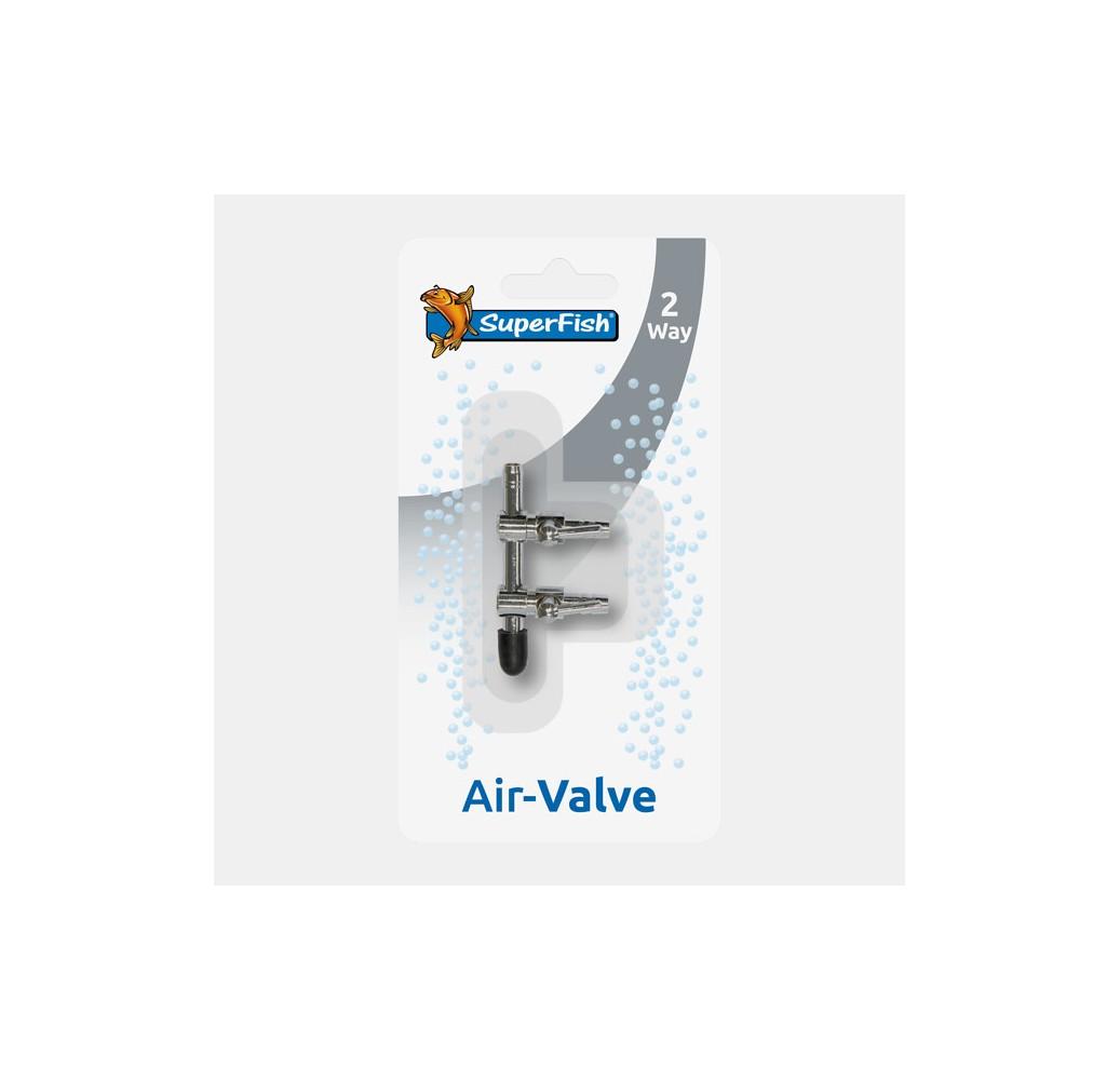 REPARTITEUR INOX VANNE A AIR 2 SORTIES 4/6mm BLISTERE
