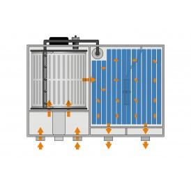 FILTRE TAMBOUR COMBI DRUM 30000 POMPAGE oasis filtration bassin