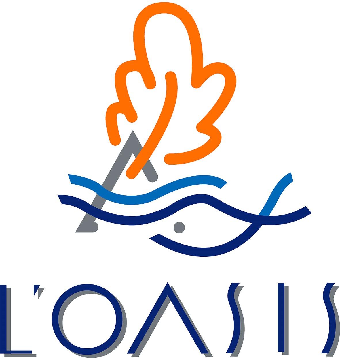 Logo oasis carpe koi et bassin